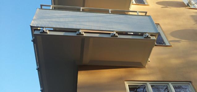 Balkongrenoveringar, klicka här för att se exempel.