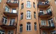 Renovering fasad